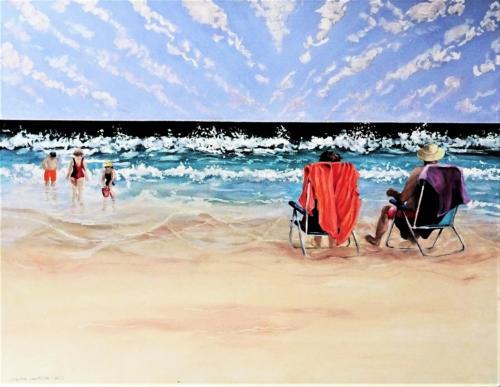 La playa,  LEŻAKI